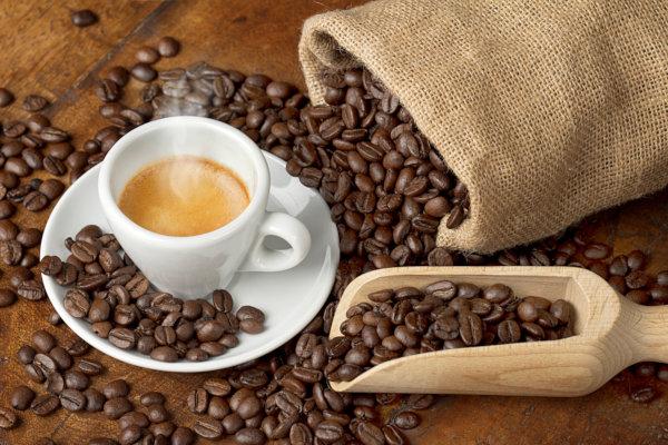 Il sapore intenso e cremoso del caffè italiano