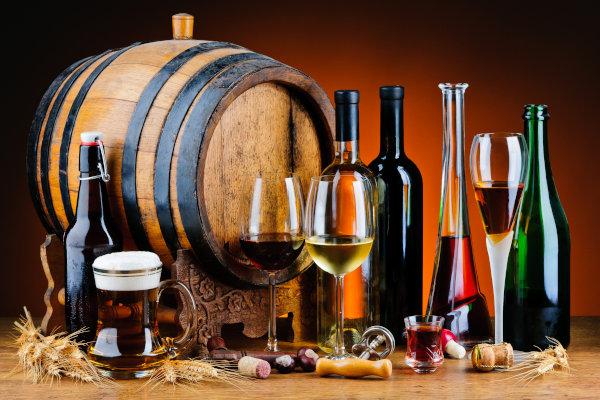 Vini italiani, birre artigianali e liquori tipici