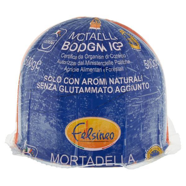 Mortadella Bologna Igp LA BLU FELSINEO 0.5kg c.a.