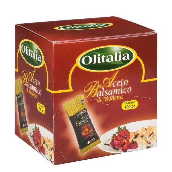 Aceto Balsamico di Modena IGP OLITALIA Monoporzioni 100pz X 5 ML