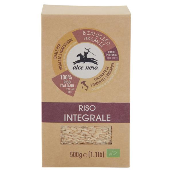 RISO Integrale Bio ALCE NERO 500gr