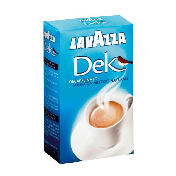 CAFFÈ Decaffeinato LAVAZZA Dek Classico 250gr