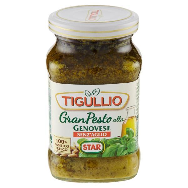 Pesto alla Genovese senza Aglio TIGULLIO 190gr