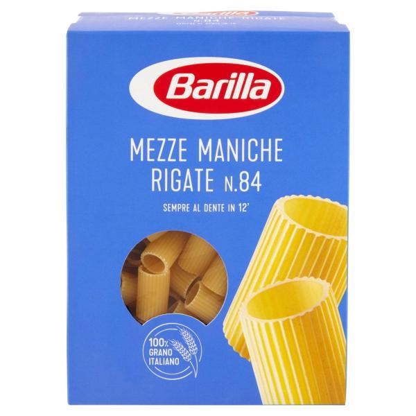 Mezze Maniche Rigate n.84 BARILLA 500gr