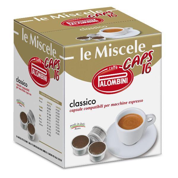 CAFFÈ PALOMBINI le Miscele 16 Capsule