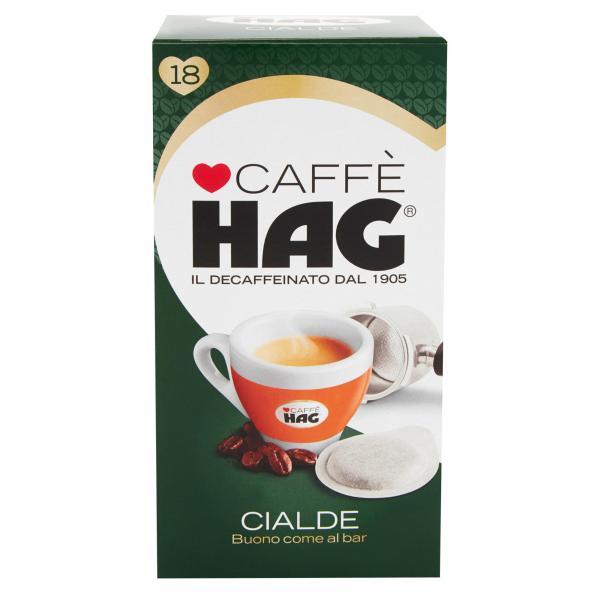 CAFFÈ Decaffeinato HAG 18 cialde