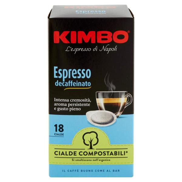 CAFFÈ KIMBO Espresso Decaffeinato 18 cialde