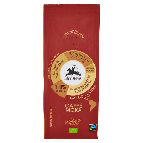 CAFFÈ Moka Bio ALCE NERO 250gr