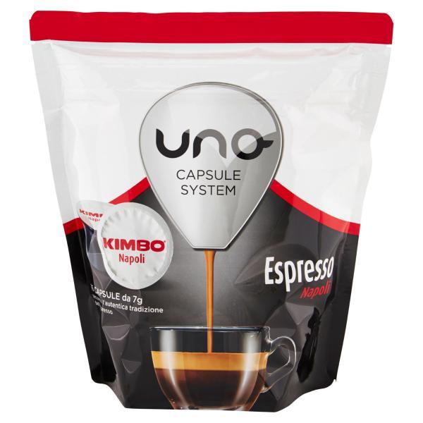 CAFFE' Napoli Espresso KIMBO uno system 16 capsule