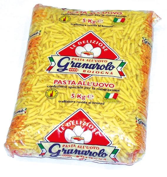 Garganelli Pasta all'uovo GRANAROLO CATERING 5kg
