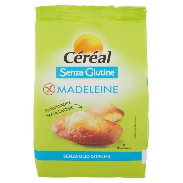 Madeleine senza Glutine CÉRÉAL 200gr