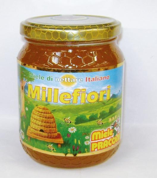 Miele Millefiori PRACONI 500gr