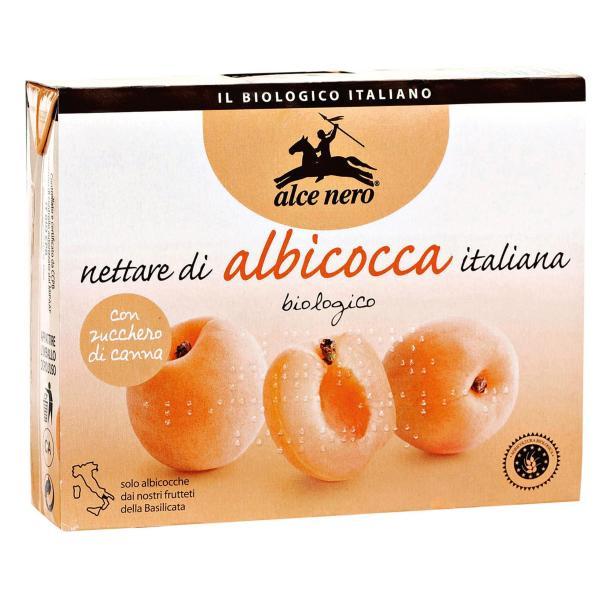 Nettare di Albicocca Bio ALCE NERO 3 x 200ml