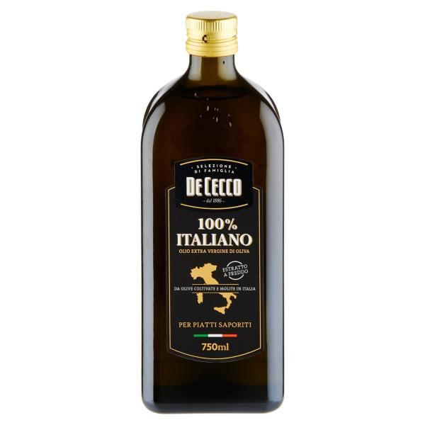 Olio Extra Vergine di Oliva 100% Italiano DE CECCO 0.7lt
