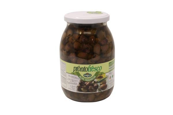 Olive Taggiasche Denocciolate in Olio di Oliva GRECI 950gr