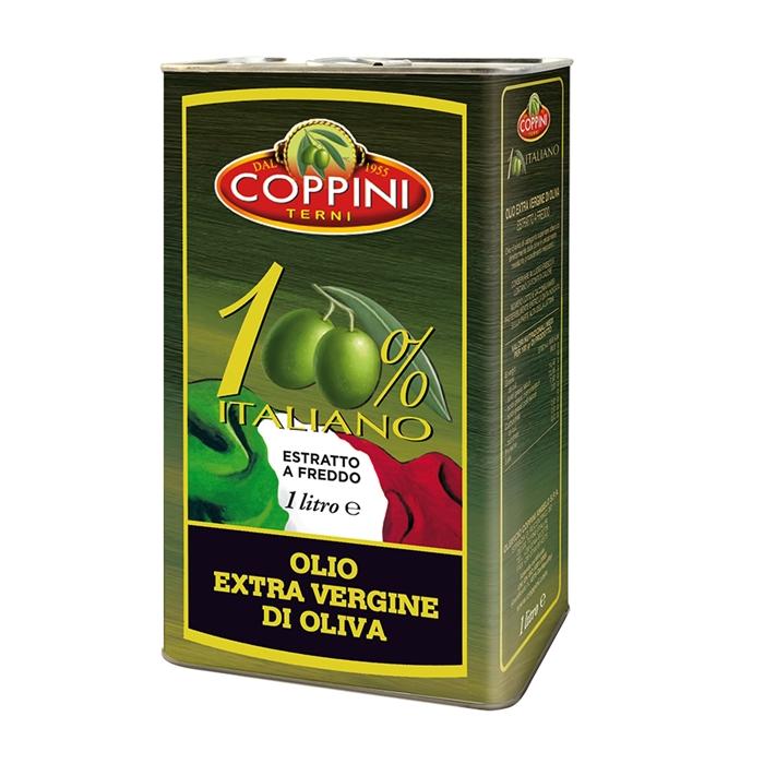 Olio Extra Vergine di Oliva 100% Italiano COPPINI 1lt