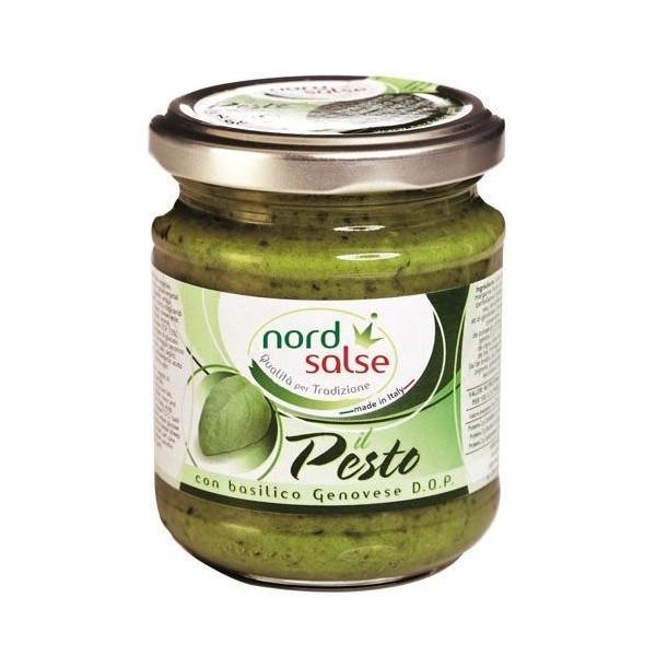 Pesto con Basilico Genovese Dop NORD SALSE 160gr