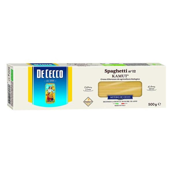 Spaghetti n° 12 al Kamut DE CECCO 500gr