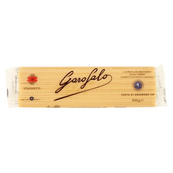 Spaghetti n.9 Pasta di Gragnano Igp GAROFALO 500gr