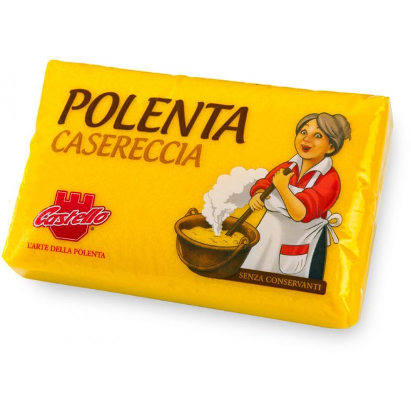 Polenta Pronta Casereccia CASTELLO 1kg