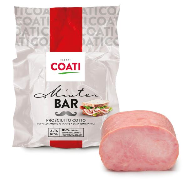 Prosciutto Cotto MisterBar COATI 3.2kg c.a.