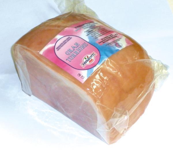 Prosciutto Cotto Torrione Alta Qualità PAVAROTTI 2.2kg c.a.