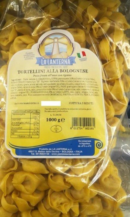 TORTELLINI alla BOLOGNESE pasta fresca LA LANTERNA 1kg
