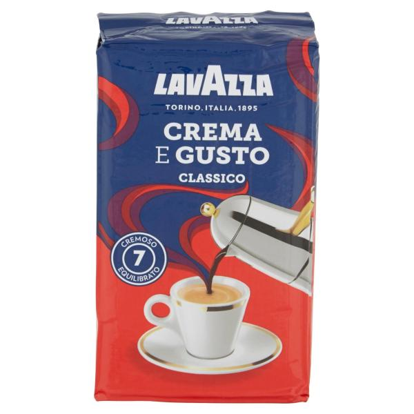 CAFFÈ LAVAZZA Crema e Gusto Classico 250gr