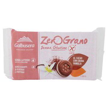 Biscotti al cacao senza glutine e lattosio GALBUSERA 160gr