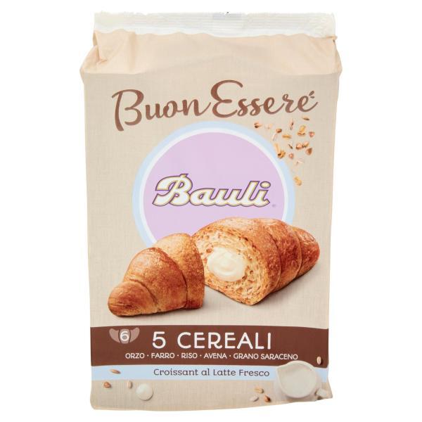 CROISSANT 5 Cereali Latte BAULI 6 x 50gr