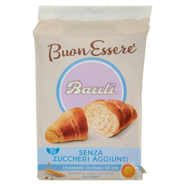 CROISSANT senza Zuccheri aggiunti BAULI 5 x 40gr